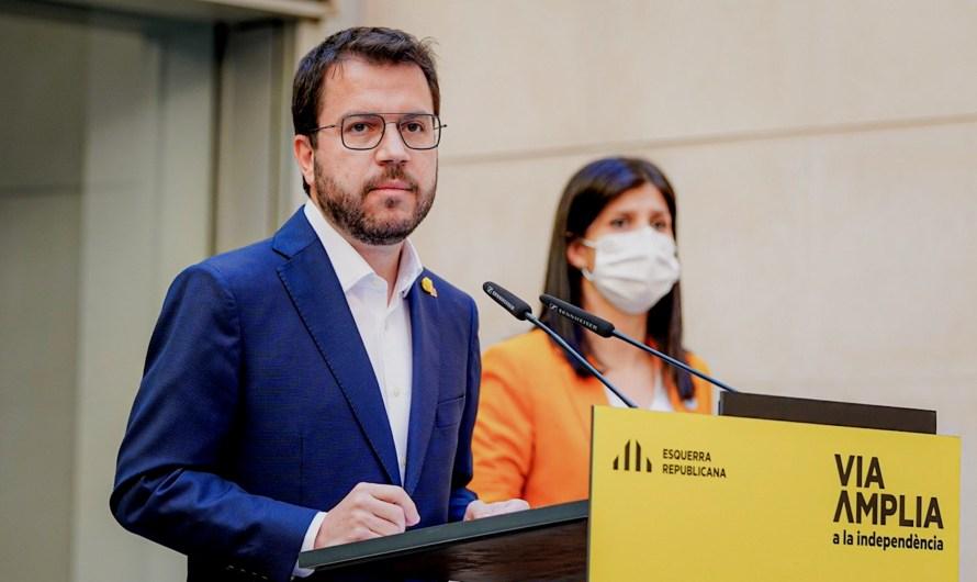 Aragonès anuncia que ERC ha decidit governar en solitari