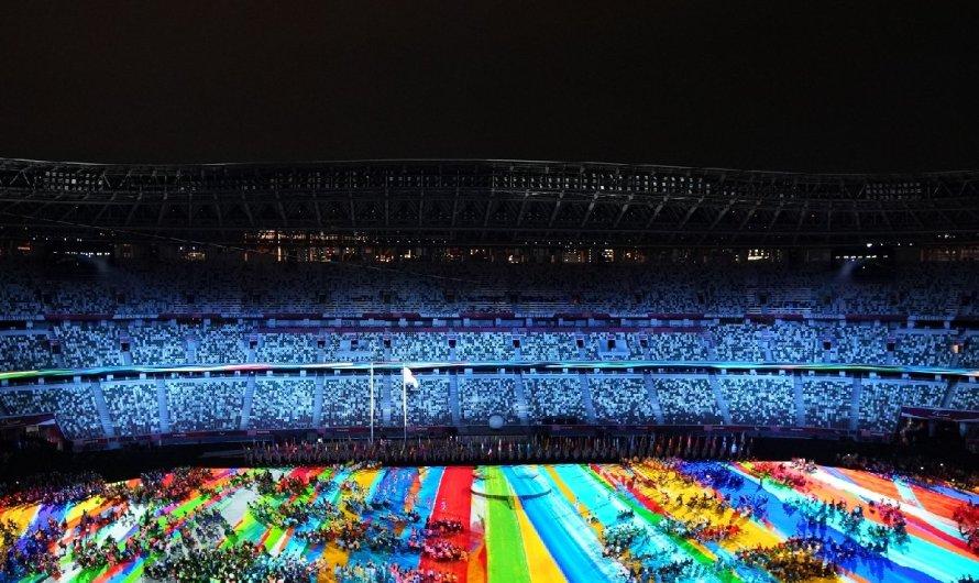 La primera Castellvilarenca que desfila a l'inauguració dels paralímpics de Tòquio
