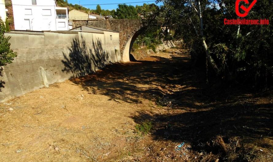 Bones notícies pels veïns de la Bauma, l'ajuntament  licita les obres d'arranjament de la llera del Llobregat