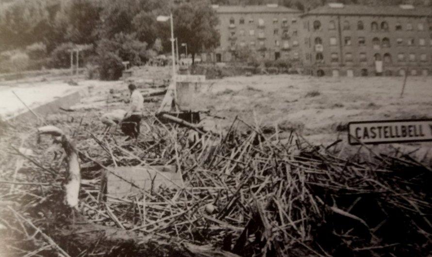Mig segle de les greus inundacions a Castellbell i el vilar