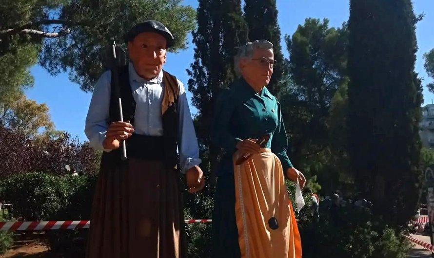 La Colla Gegantera de Castellbell i el Vilar actuen a Esplugues de llobregat