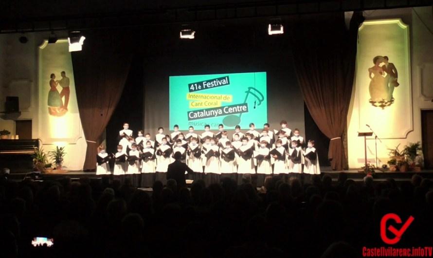 Vídeo del Concert Escolania de Montserrat  al 41è Festival Internacional Cant Coral Catalunya Centre Castellbell i el vilar 22 octubre 2021.