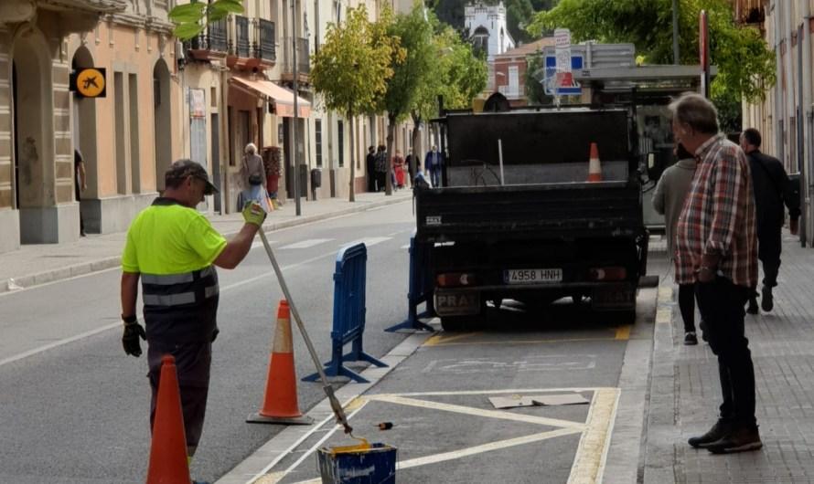 Nova àrea de càrrega i descàrrega a Castellbell i el Vilar