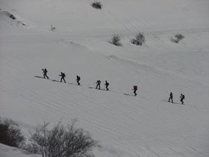 raquetas de nieve ordesa