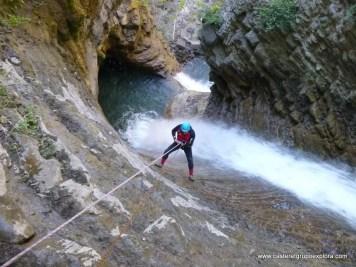 descenso de barrancos - barranquismo - Casteret