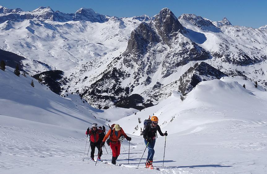 Guías Ascensiones Montaña Pirineos