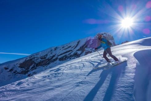 esquí montaña pirineo
