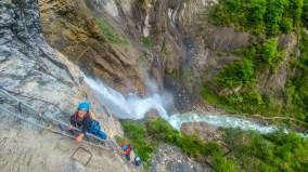Ferrata de Sorrosal, Broto - Casteret guías de montaña