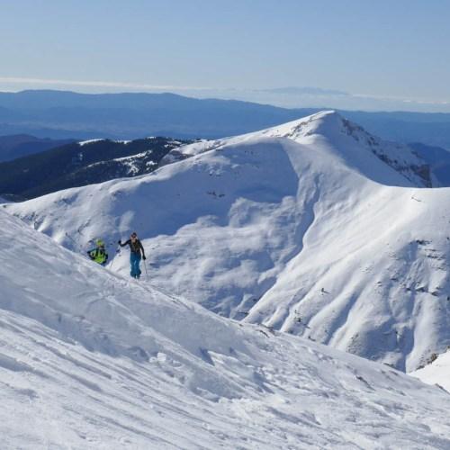 Llena del Bozo con esquí de montaña