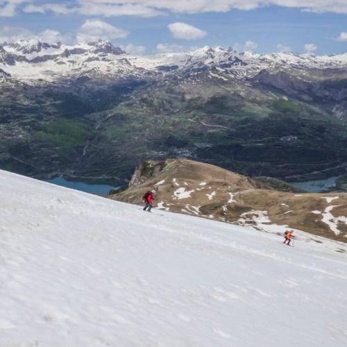 Esquí de montaña. Peña Blanca, Peña Roya y Mandilar