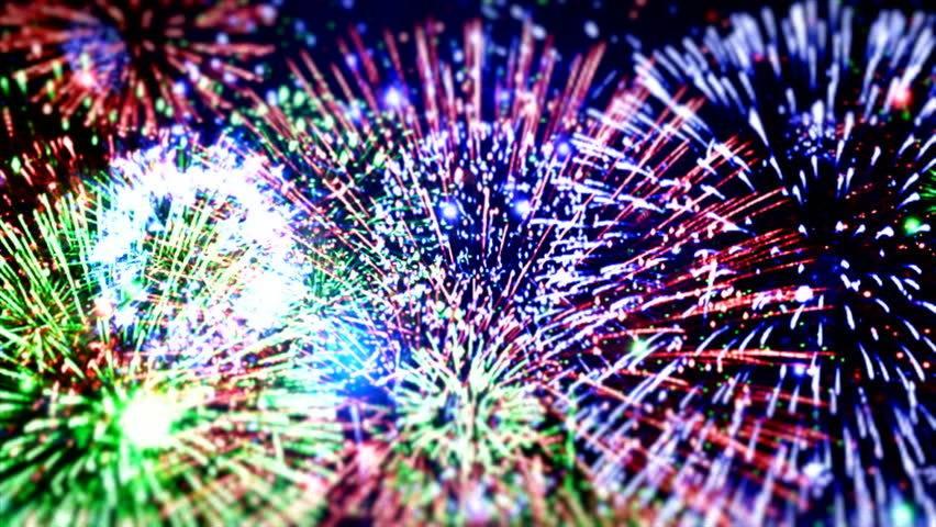 Fireworks at Caste Village