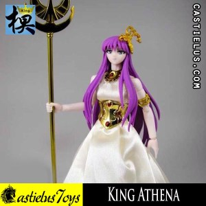 Saint Seiya action figure Bandai Saint Cloth Myth SCM Athena King Model Athena Saori