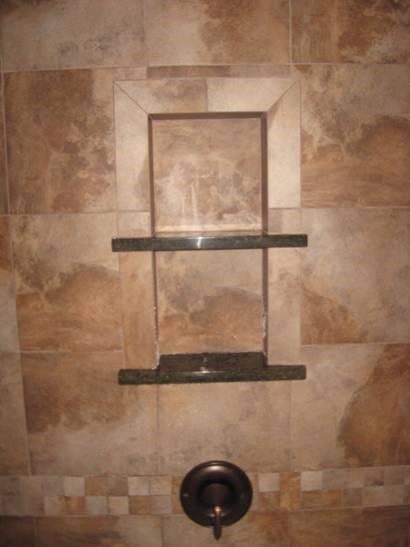 Bathroom Finished Tile Insert