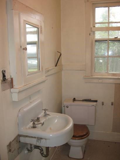 Bathroom Vanity Before the Remodel