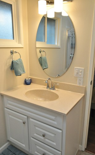 Bathroom Remodel Vanity in Springfield