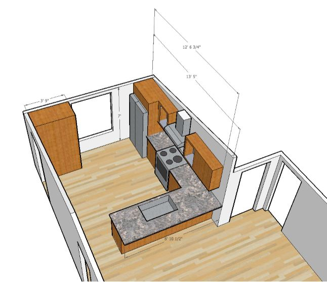 Design Sketch from Remodeling Contractor
