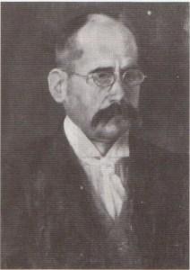 Eusebio Campos, en 1905, pintado por F. Torres