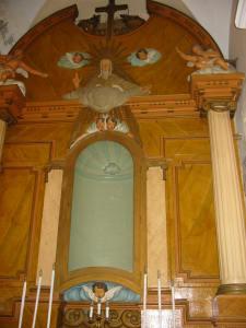 Retablo de la ermita de la Balma