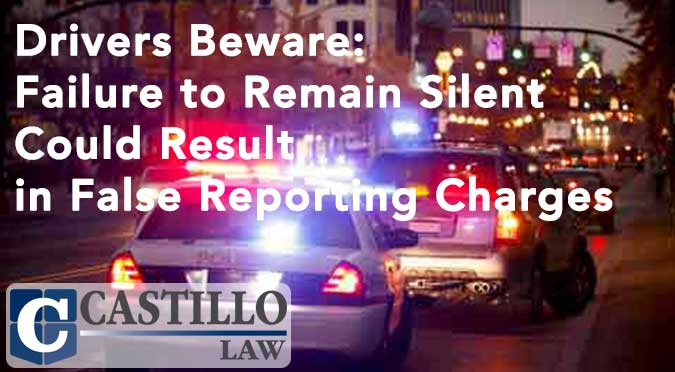 False Reporting Charge AZ Castillo Law