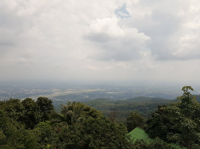 Chiang Mai from the mountain top