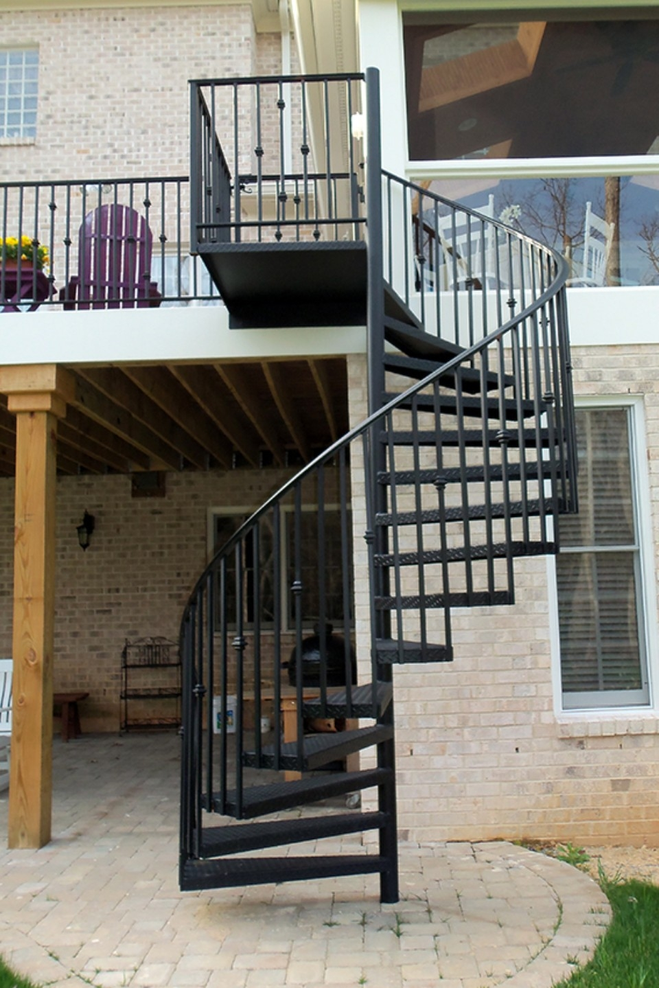 Wrought Iron Staircase Raleigh Nc Cast Iron Elegance | Wrought Iron Spiral Staircase | Old | Plant Stand | Stair Case | Transitional | Narrow