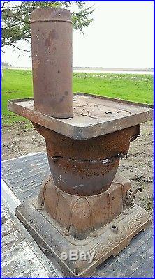 train  Cast Iron Stove