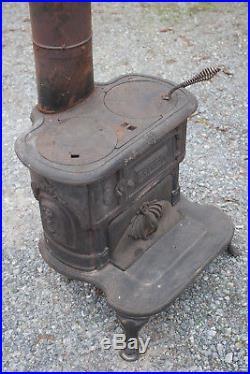 Franklin 288 Cast Iron Vintage Wood Burning Stove PB MFG