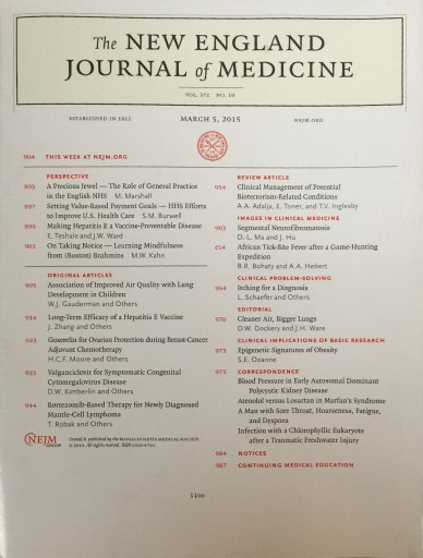 New England Journal of Medicine | TSW US