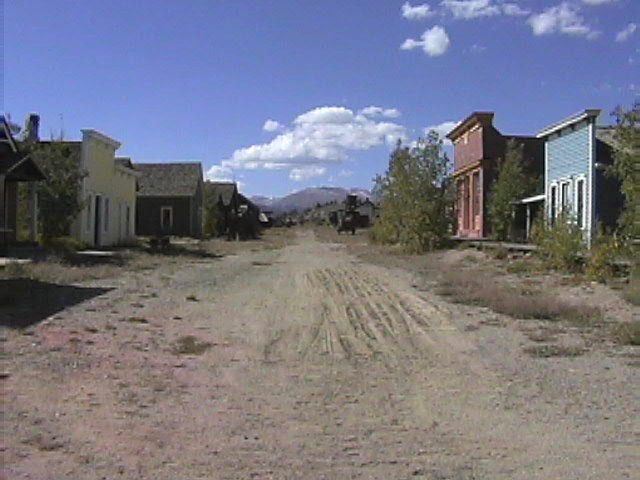 Tarryall 1800s Ghost Town
