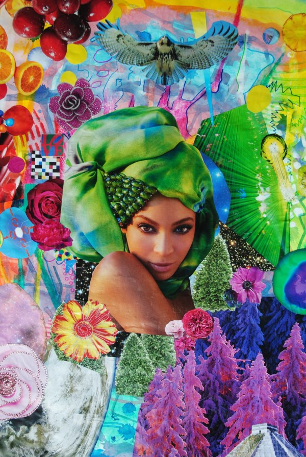 Beyonce Collage Art