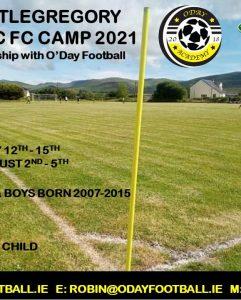 Celtic FC Camp 2021