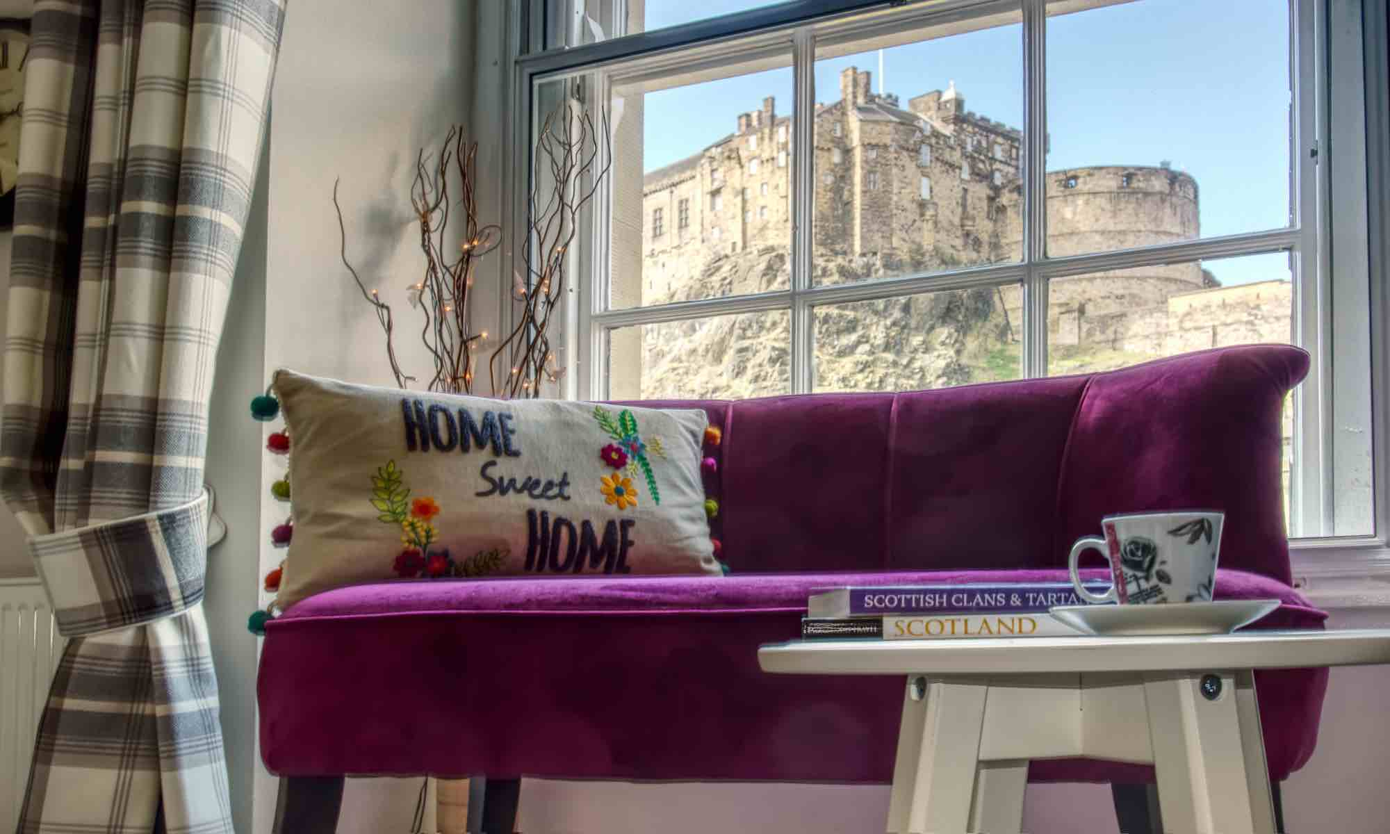 sofa stores edinburgh domicil alfred castle lookout apartment grassmarket scotland