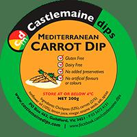 Castlemaine Dips gluten-free vegetarian dairy-free mediterranean carrot dip