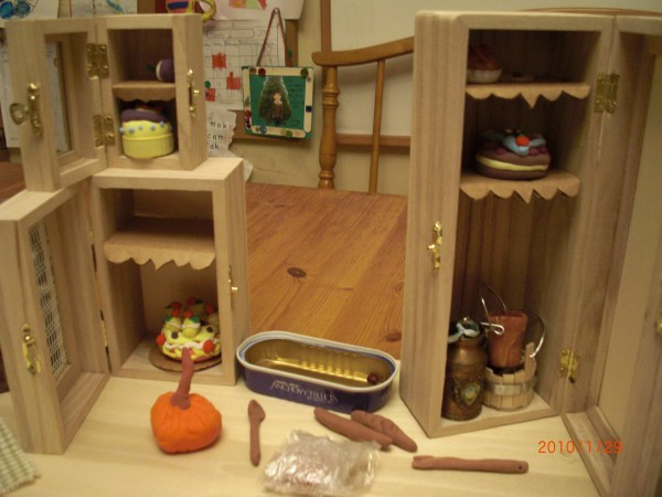 Cinderella Handmade Miniature Kitchen Castle Of Costa Mesa