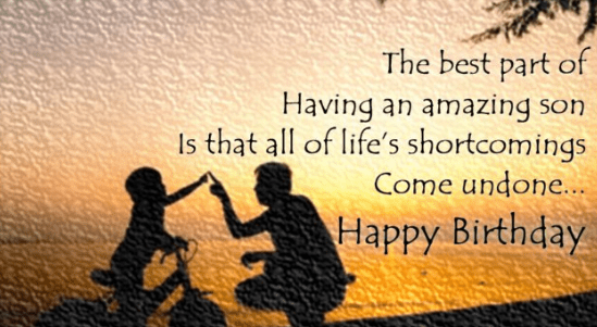 Top 25 Birthday Quotes For Son (Wishes For Son)