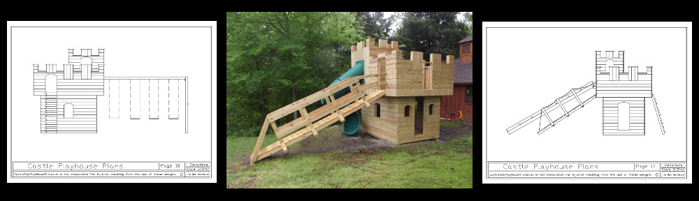 how to build a princess castle playhouse