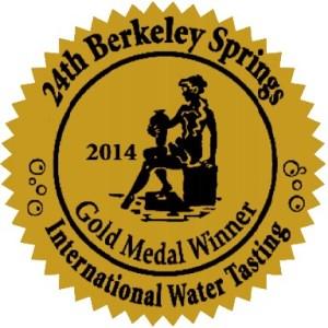 Castle Rock Water Co Gold Medal Winner 2014 International Berkeley Springs