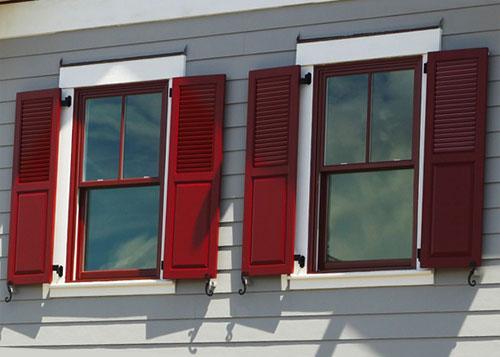 Composite Exterior Window Shutters Sales & Installation