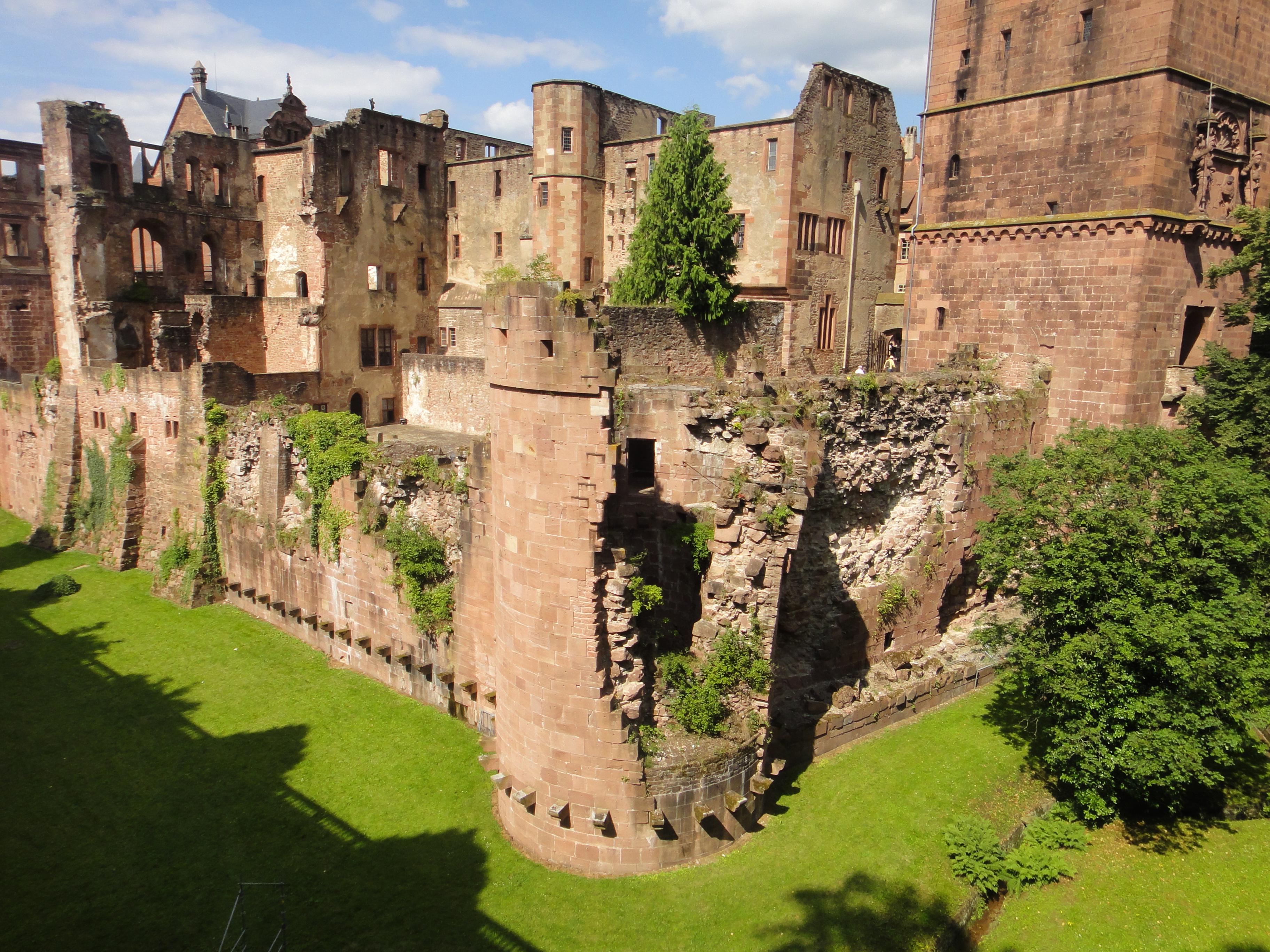 Castello di Heidelberg  castlesintheworld