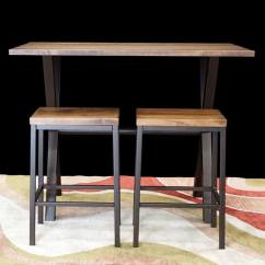 Counter Height Chairs Set Of 2 Table And San Francisco Bay Area Pub & Bar Tables For Sale