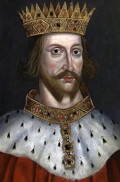 Portrait of King Hendry II of England