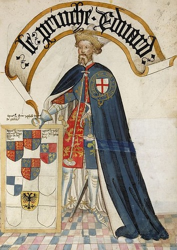 Edward the black Prince of Wales