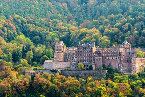 Heidelberg Castle from a distance