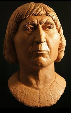 The face of Robert the Bruce