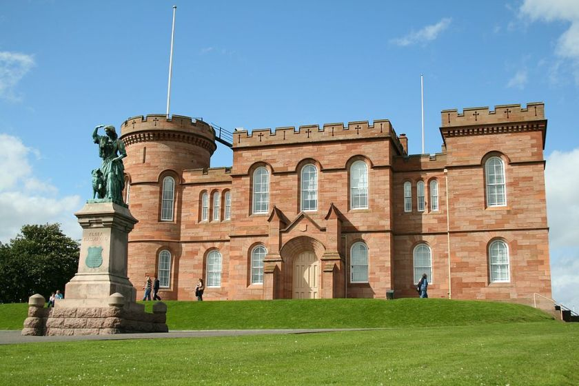 Flora Macdonald and Inverness Castle