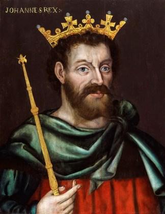 Bad King John I of England