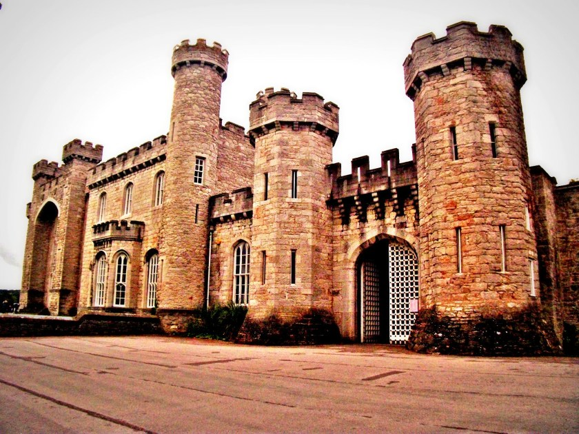 Entrance of Bodelwyddan castle