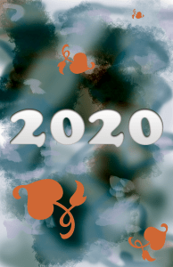 2020 Card for new year