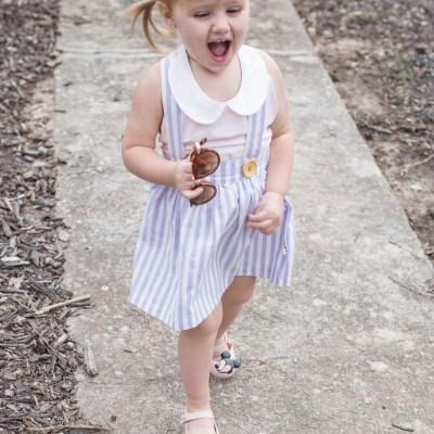 Maddie Grace: 23 Months; Tripp: 2 Months