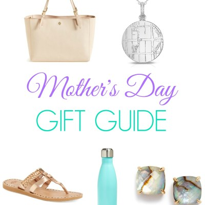 Mother's Day Gift Guide (+ Maps by A. Jaffe Giveaway)